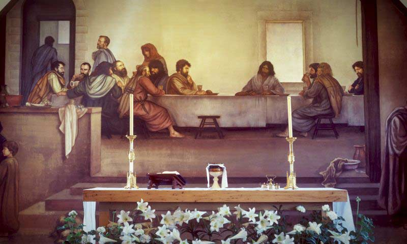 Breaking Bread with Jesus of Narareth